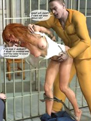 Prisoner girl fucked in the police station